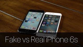 getlinkyoutube.com-Fake vs Real iPhone 6s!