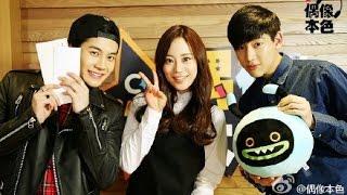 getlinkyoutube.com-150328 Jackson & BamBam (GOT7) @ MBC-C Radio 'Idol True Colors'