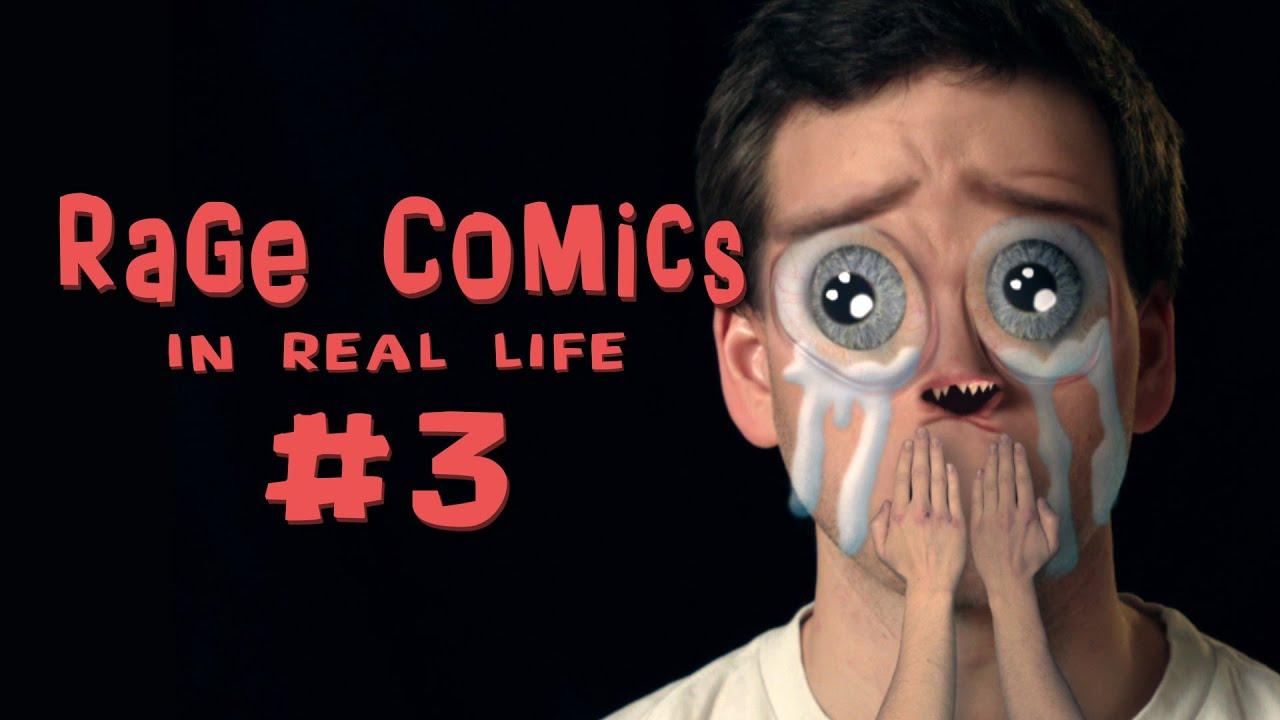 Rage Comics - In Real Life 3 kocak dan seru