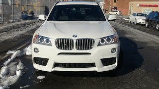 getlinkyoutube.com-BMW F25 X3 35i M-Sport In Depth Review, Start Up, Exhaust, Cornering, Braking, and Driving Scenes