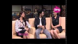 getlinkyoutube.com-Varun Dhawan, Nargis Fakhri & Ileana D'Cruz at ZETC and Zing Studios