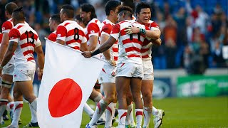Japan's emotional celebrations after unbelievable win over South Africa!