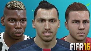 getlinkyoutube.com-FIFA 16 Player Faces and Hair Update Ft. Pogba, Bale and Jordan Lukaku (PC MOD)