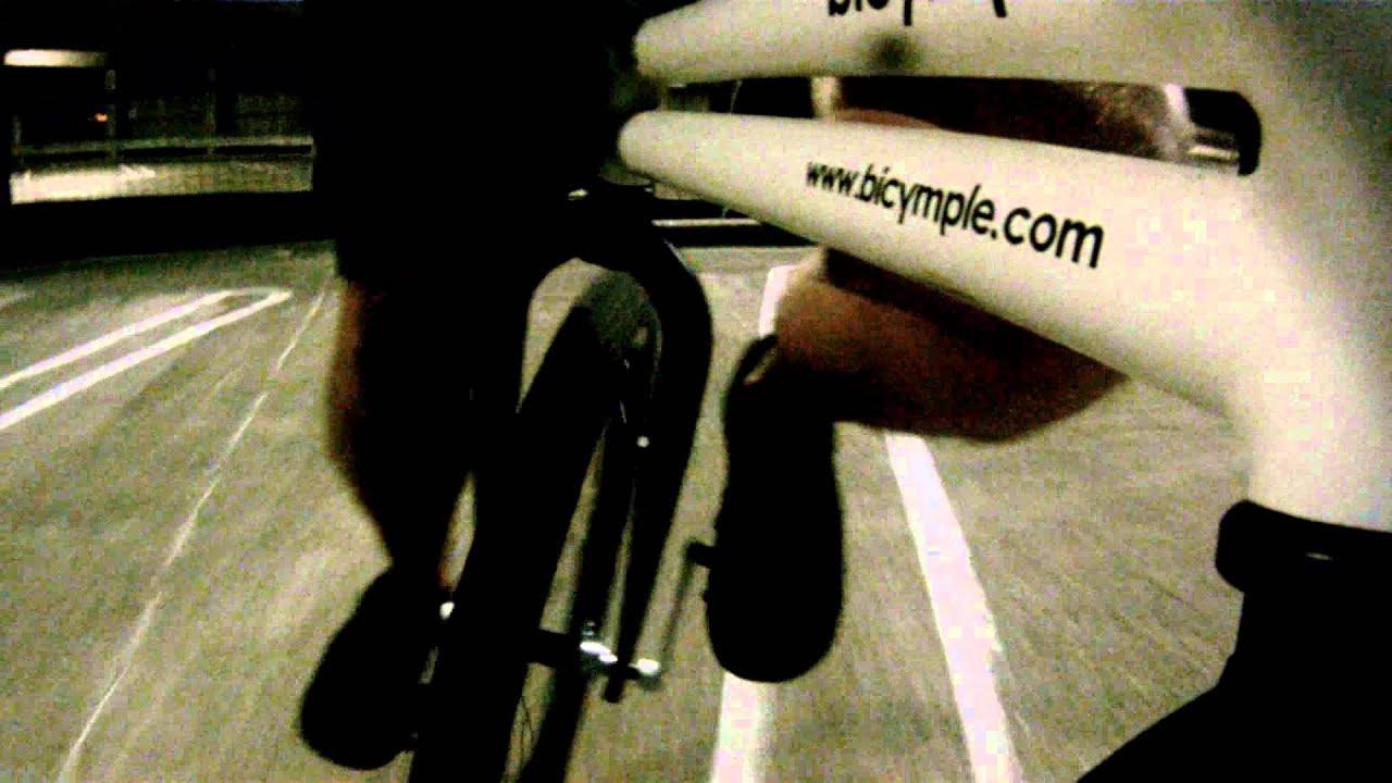 Enhjuling med två hjul -Kent Clarström