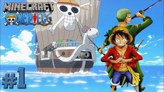 getlinkyoutube.com-Minecraft One Piece: Episode 1 - A Pirate's Life For Me! (Minecraft One Piece Mod) [Roleplay]