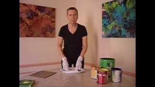 Cassandra Tondro Painting Demonstration