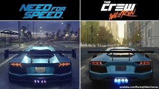 getlinkyoutube.com-Need For Speed vs. The Crew Wild Run | Graphics & Weather Comparison, 2015 Open World Racing Games