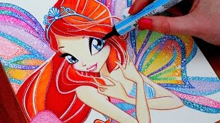 getlinkyoutube.com-WINX CLUB Drawing BLOOM