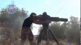 getlinkyoutube.com-Mujahidin Suriah Tembak Helikopter Rusia Saat Pencarian Pilot Pesawat Tempur