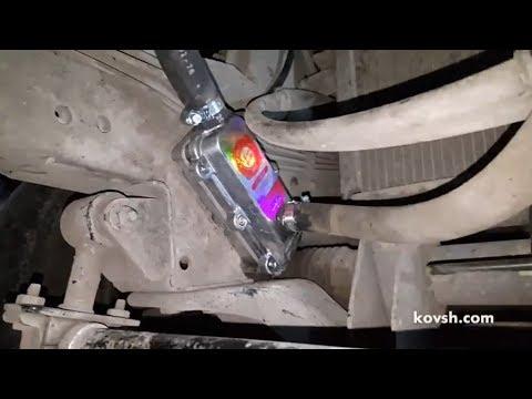 Установка предпускового подогревателя двигателя на Kia Pregio 2.7D