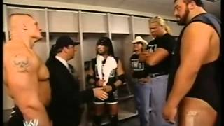 NWO vs Brock Lesnar