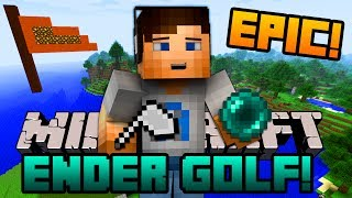"getlinkyoutube.com-Minecraft Mini-Game - ENDER GOLF! w/ Ali-A! - ""OMG THAT SHOT!"""