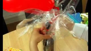 getlinkyoutube.com-Geschenke verpacken - Flasche
