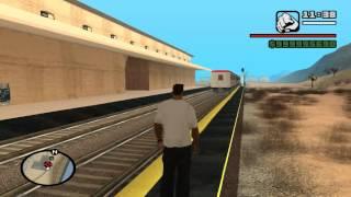 getlinkyoutube.com-Gta San Andreas Train  two tracks