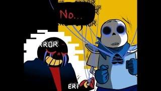 getlinkyoutube.com-Error!Sans vs UnderSwap [Undertale AU Comic Fandub]