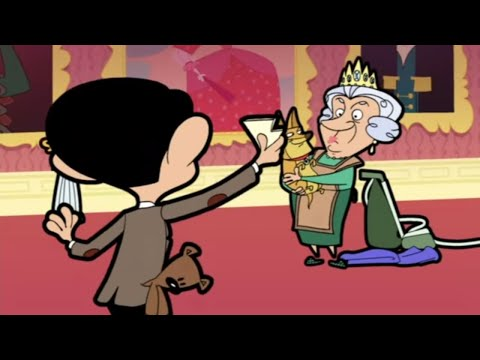 Mr Bean the Animated Series - Mr. Bean - Royal Bean: Meeting