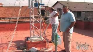 montaggio traliccio ed antenne 3 parte