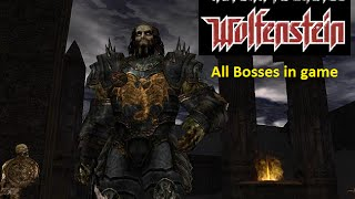 Return to castle wolfestein all bosses