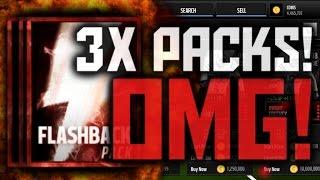 3X FLASHBACK! OMG NO WAY! BEST PULLS! - Madden Mobile 16