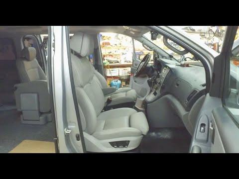 Hyundai Starex - замена штатных сидений на комфортные с BMW [комфорт+]