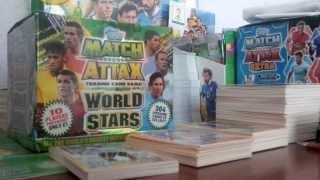 getlinkyoutube.com-OPENING TEN PACKETS TOPPS MATCH ATTAX WORLD STARS