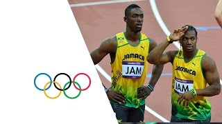 getlinkyoutube.com-Men's 4x100m Round 1 Highlights -- Jamaica & USA Win -- London 2012 Olympics