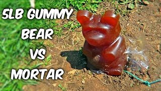 5lb Gummy Bear Vs Mortar