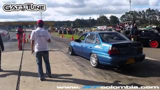 getlinkyoutube.com-Daewoo Nexia Turbo vs Renault 21 Turbo