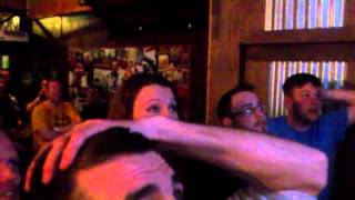 getlinkyoutube.com-Wrestlemania 31 Lesnar v Reigns LIVE Reactions Irish Bar