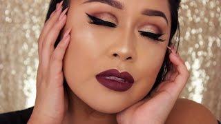getlinkyoutube.com-Holiday Glam   Tartelette 2 In Bloom   Eyeshadow Tutorial
