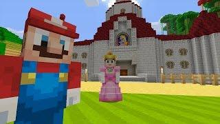 getlinkyoutube.com-Minecraft Wii U - Super Mario Series - Bowser Attacks [1]