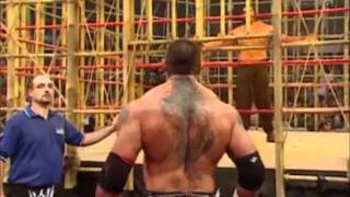 getlinkyoutube.com-Batista vs The Great Khali No Mercy 2007 Punjabi Prison Match Part 1