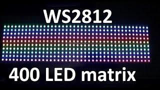 getlinkyoutube.com-Arduino & 400 Neopixel WS2812 RGB LED matrix project