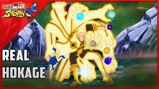 getlinkyoutube.com-REAL HOKAGE!!! | Hokage Naruto Moveset Mod | Naruto Storm 4 Mods
