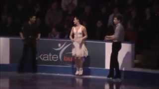 getlinkyoutube.com-Tessa Virtue Scott Moir Exhibition Gangnam Style