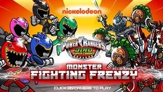 getlinkyoutube.com-Power Rangers Dino Charge: Monster Fighting Frenzy
