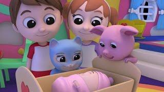 getlinkyoutube.com-Luke & Lily - Rock a bye baby | Lullaby Song | Children's Songs | Nursery Rhymes