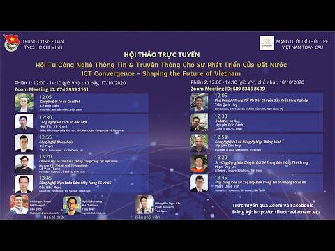 Talk 6 (Phiên 2): Hội tụ công nghệ thông tin và truyền thông cho sự phát triển của đất nước