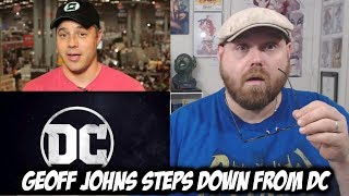 Geoff Johns Steps Down as DC Entertainment Chief!!!
