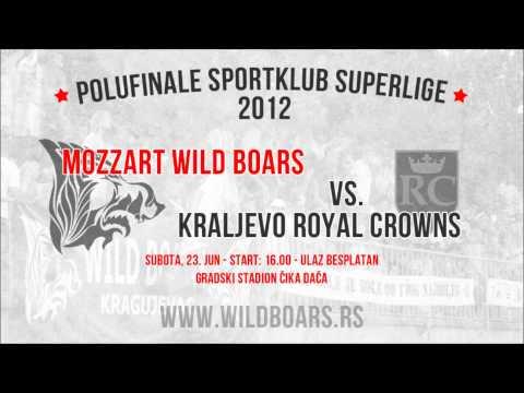 POLUFINALE SPORTKLUB SUPERLIGE: Mozzart Wild Boars vs. Royal Crowns