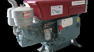 getlinkyoutube.com-Changfa Chinese Diesel Generator -17c Cold Start