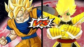 getlinkyoutube.com-Dragon Ball Z Budokai Tenkaichi 3 - Goku Vs Kakaroto Red Potara (The Space Kombat!)