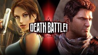 getlinkyoutube.com-Lara Croft VS Nathan Drake | DEATH BATTLE! (Tomb Raider VS Uncharted)