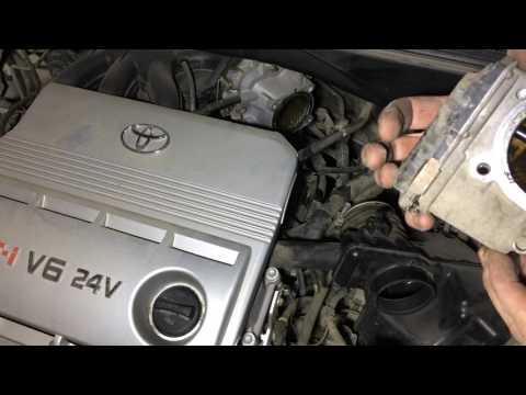 Моем дроссельную заслонку на Тойота Харриер 2004 года Toyota Harrier