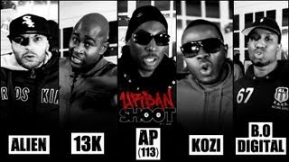 Urban Shoot #17 - Alien, 13k, Ap Du 113, Kozi & B.o. Digital