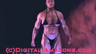 getlinkyoutube.com-FEMALE MUSCLE GROWTH SKINNY KAROLA to PRINCESS HELL digital-amazons.com