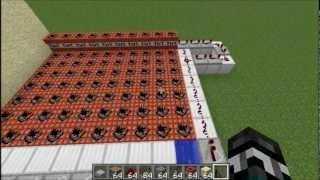 getlinkyoutube.com-Minecraft - Canhão de TNT Automaticamente Recarregável - IdeiasMinecraft