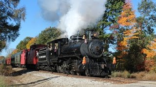 getlinkyoutube.com-Push-Pullers and Falling Leaves on the Little River Railroad
