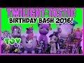 Twilight-tastic Birthday Bash 2016! Six Twilight Sparkle My Little Pony Reviews!! | Bins Toy Bin