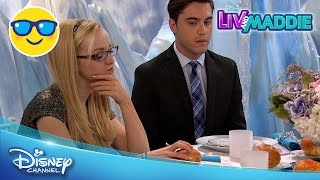 getlinkyoutube.com-Liv and Maddie | Choose-a-Rooney | Official Disney Channel UK